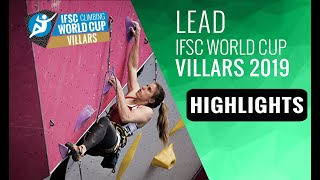IFSC Climbing World Cup Villars 2019 - Lead- Highlights by International Federation of Sport Climbing
