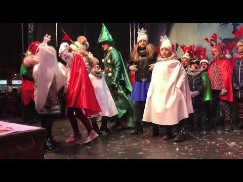 Wideo1: Spotkanie z Mikołajem w Wolsztynie