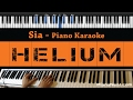 Download Lagu Sia - Helium - Piano Karaoke  Sing Along  Cover with Lyrics Mp3 Free