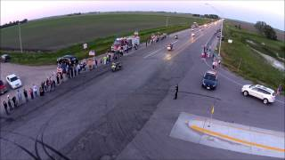 Central City (NE) United States  city photos gallery : Dustin Lukasiewicz Procession through Nebraska
