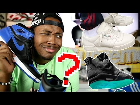 WTF! PEOPLE ARE PAYING $800 FOR THESE? KAWS 4 ROYAL 1 YEEZY POWERPHASE AND MORE! HEAT OR ALL HYPE?
