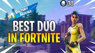 Best duo in fortnite...   30 KILL DUO CUP W/ MYTH