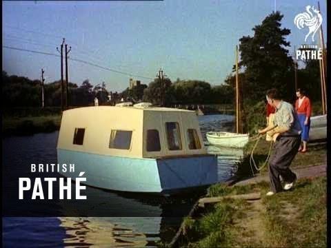 Amphibious Caravan (1955) (видео)