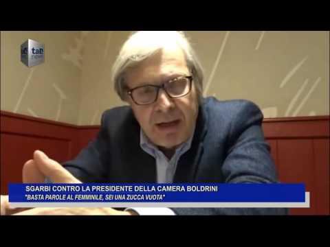 SGARBI CONTRO LA PRESIDENTE DELLA CAMERA BOLDRINI