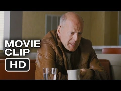 Looper Movie CLIP - Diner Face Off (2012) - Joseph Gordon-Levitt, Bruce Willis Movie HD