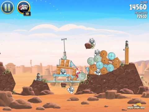 Angry Birds Star Wars Part 1, Levels 1-40