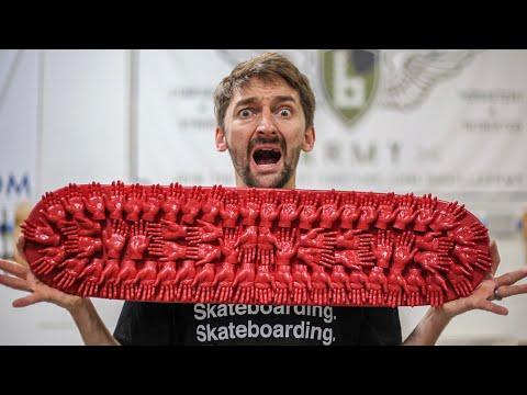 TINY HANDS Skateboard Challenge_Legjobb videók: Extrém