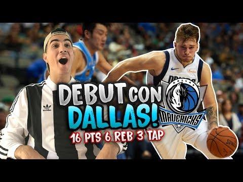 LUKA DONCIC DEBUTA EN LA NBA CON LOS DALLAS MAVERICKS (Reacción)