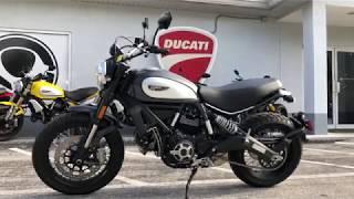 8. 2018 Ducati Scrambler 800 Street Classic Walkaround at Euro Cycles of Tampa Bay