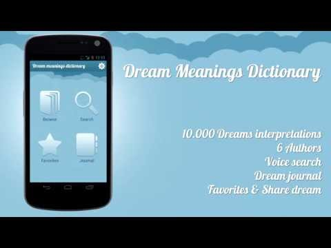 Video of Dream Meanings Dictionary