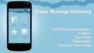 Dream Meanings Dictionary YouTube video