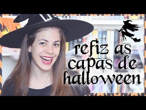 REFAZENDO CAPAS | Especial Halloween