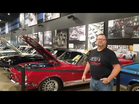 Shelby American Show Room  Las Vegas Willie Moore