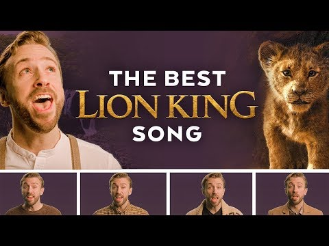 "Elton John  ""Can You Feel The Love Tonight"" Cover by Peter Hollens"