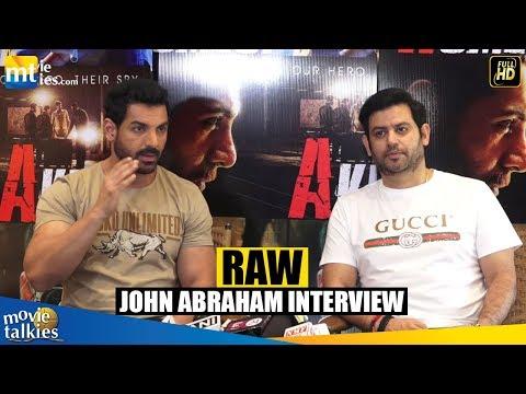 RAW | John Abraham and Producer Ajay Kapoor Interview | Romeo Akbar Walter