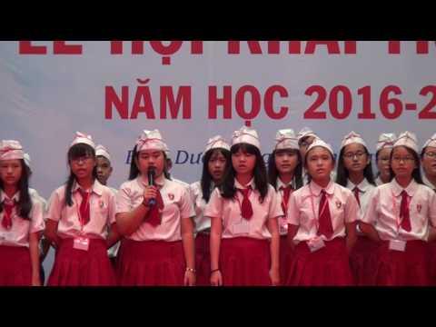 LỄ HỘI KHAI TRƯỜNG NĂM HỌC 2016-2017 - KHÚC CA VIỆT ANH