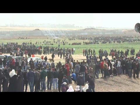 Γάζα: Ένας χρόνος παλαιστινιακών κινητοποιήσεων