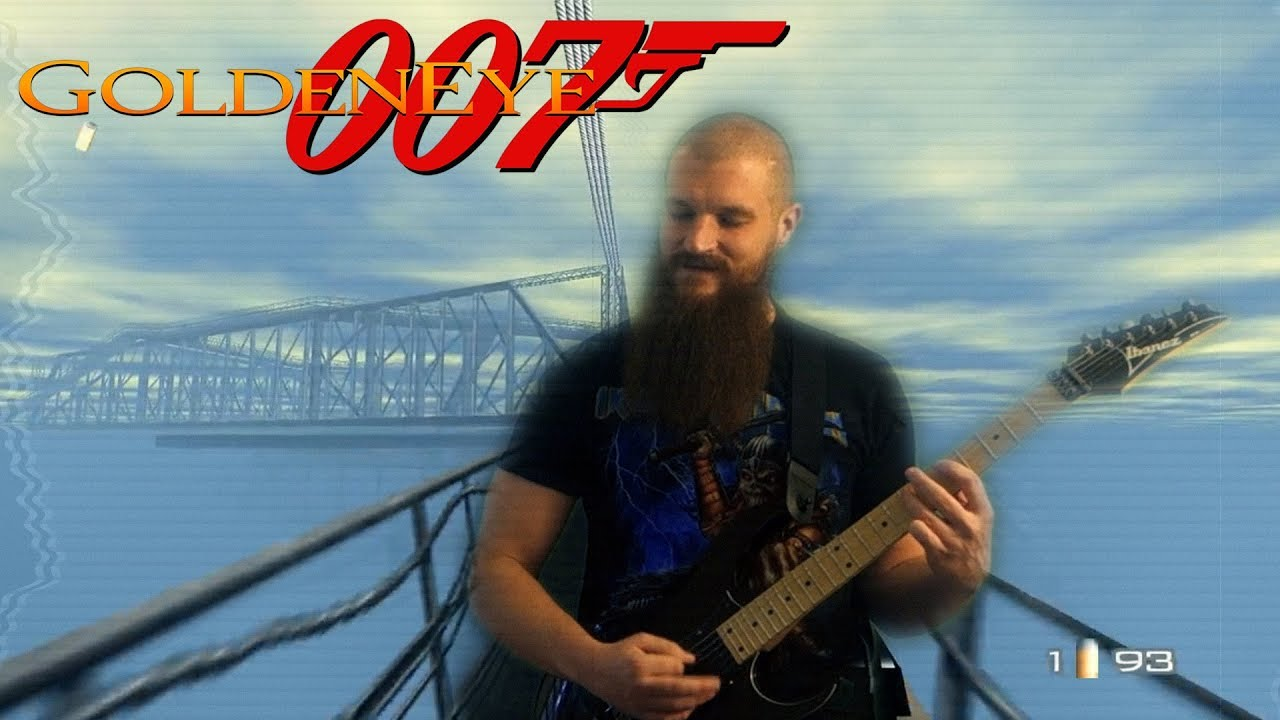 Cradle (GoldenEye 007) | METAL GUITAR COVER
