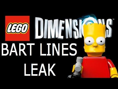 ****BART'S LINES LEAK**** - LEGO Dimensions
