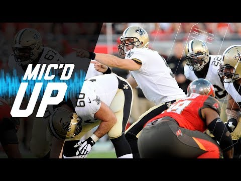 Video: Drew Brees Mic'd Up vs. Buccaneers