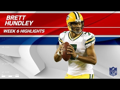 Video: Brett Hundley Fills in for Rodgers vs. Minnesota | Packers vs. Vikings | Wk 6 Player Highlights