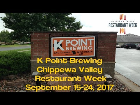 K Point Brewing - Chippewa Valley Restaurant Week - Eau Claire WI - Sept 2017