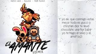 Nicky Jam El Amante Remix Ft Bad Buny Y Ozuna