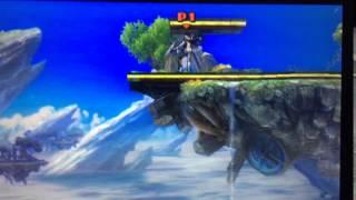 Bayonetta Can Down Smash Through The Ground?