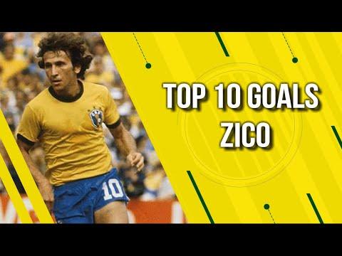 Top 10 Goals - Zico