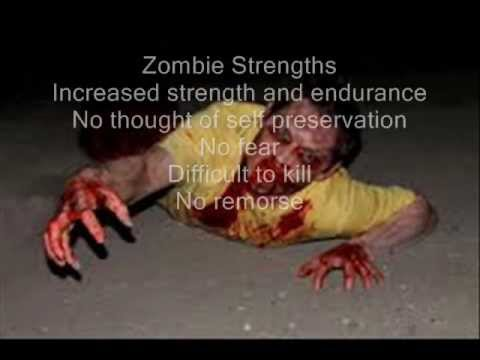 Zombie Survival Guide Part 1- Your Strengths and Weaknesses