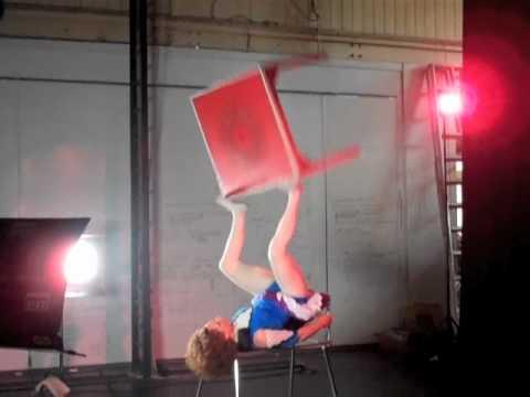 Circus Oz 2010 Hazel Bock Foot Juggle