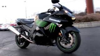 2. 2009 Kawasaki ZX-1400 NINJA ZX-14 MONSTER EDITION C20026
