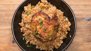 Paprika Chicken & Rice Bake by Tasty
