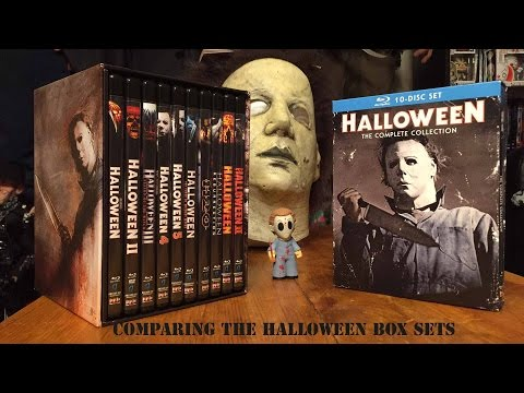 Comparing The Halloween Complete Collection Box Sets