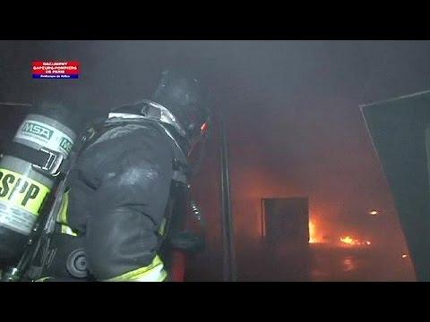 Γαλλία: Yπό έλεγχο μεγάλη φωτιά στο Μουσείο Επιστημών