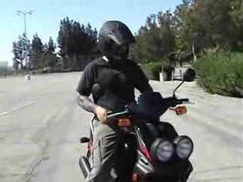 2008 Yamaha Zuma scooter review