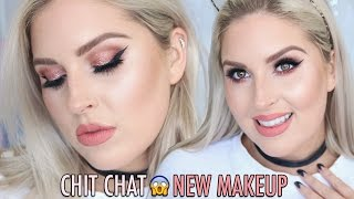 Trying new products in a Chit Chat Get Ready With Me! I hope you enjoy watching this and let me know if you want more! Its a warm brown, taupe, nude makeup t...