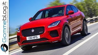 The New Jaguar E-PACE has set an official GUINNESS WORLD RECORDS title during its world premiere in London. Leaping into the record books, Jaguar's compact performance SUV achieved a epic 15.3 metre-long jump, complete with a 270-degree corkscrew-like 'barrel roll'. Behind the wheel was legendary British stunt driver Terry Grant.The compact performance SUV leapt into the record books with a 15.3 metre-long jump complete with a 270-degree corkscrew-like 'barrel roll'. Demonstrating the agility, precision and performance of Jaguar's newest SUV, the feat was the final test for E-PACE after 25 gruelling months of work across four continents to ensure extreme durability and that it lived up to Jaguar's Art of Performance philosophy.Trademark Jaguar driving dynamics and design put the brand's sports car DNA in a practical design packed with advanced technologies to keep you connected.The E-PACE is the newest member of Jaguar's SUV family, joining the ground-breaking all-electric I-PACE Concept and the 2017 World Car of the Year, the Jaguar F-PACE – itself launched with a spectacular GUINNESS WORLD RECORDS setting loop-the-loop in 2015.The exterior design is inspired by the Jaguar F-TYPE sports car and characterised by the distinctive Jaguar grille, muscular proportions, short overhangs and powerful haunches that give the E-PACE a bold and purposeful stance, instantly communicating dynamic agility. Jaguar sports car DNA is also evident in the fast sweep of the roofline and the distinctive side window graphic.Performance car: The Jaguar E-PACE is a five-seat, compact SUV that packs the design and performance of a Jaguar sports car into a spacious, practical and connected all-wheel-drive vehicle automotive.►►►► Gommeblog.it: Car & PerformanceYoutube Channelhttps://www.youtube.com/user/GommeBlogCar & Performance Channel Social LinksFacebook: http://facebook.com/gommeblog Twitter: https://twitter.com/gommeblog Website: http://www.gommeblog.itGoogle +: https://goo.gl/PuMzm7►►►►