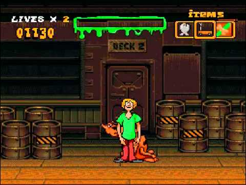 scooby doo mystery super nintendo password