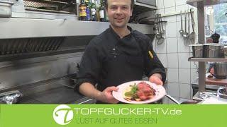 Sellerie-Marzipan Mousseline an rosa Rehrücken | Rezeptempfehlung Topfgucker-T