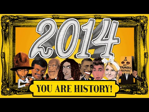 """JibJab 2014 Year in Review: """"2014, You Are History!"""""""