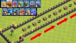 "Video WHICH TROOP CAN OUT RUN THIS!?! "" Clash of clans "" RACE BASE!! MP3, 3GP, MP4, WEBM, AVI, FLV Februari 2018"