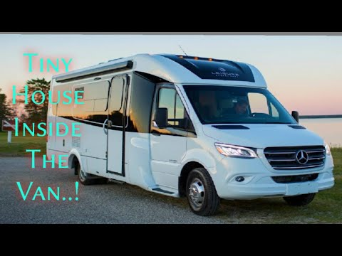 NEW LEISURE TRAVEL VAN [2020] FULL VIEW | RV TOUR | UNITY MURPHY BED INTERIOR & EXTERIOR Motor Home