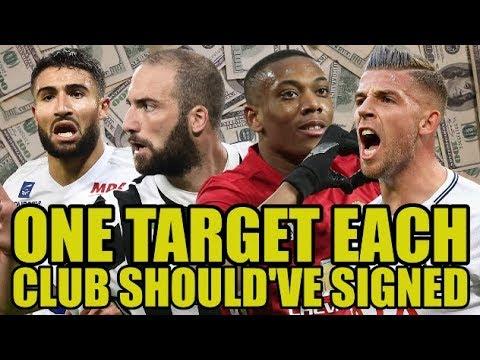 One Target Each Premier League Club Should've Signed