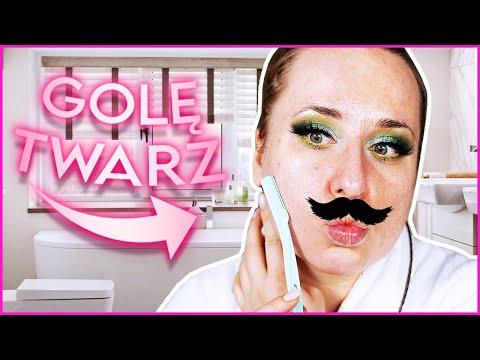 Ile WŁOSÓW mam na twarzy? Czy po GOLENIU makijaż nakładało się lepiej? видео