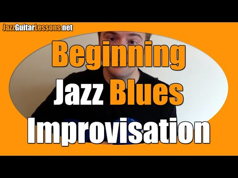 Jazz Guitar Lesson: Beginning Jazz Blues Improvisation – Jazz Guitar Scales Shortcut (easy)