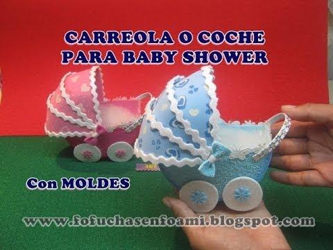 tutorial foamy - carrozzina per bebè