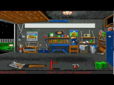 hot rod amiga game
