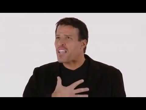 Motivational speaker: TONY ROBBINS – Raise Your Standards & Change Your Rituals