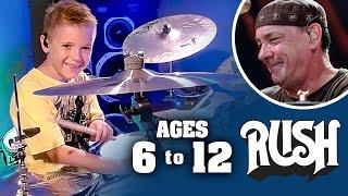 RUSH Drum Cover Tribute Image